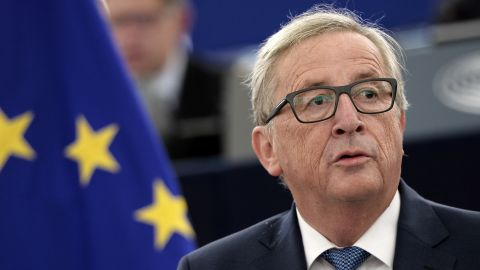 Jean-Claude Juncker made his comments to a German newspaper.