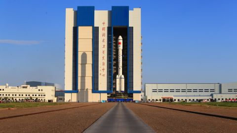 The Long March 2F carrier rocket is scheduled to blast off on September 15, 2016.