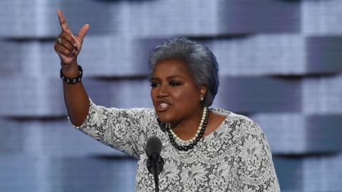 DNC Vice-Chair Donna Brazile speaks during Day 2 of the Democratic National Convention at the Wells Fargo Center in Philadelphia, Pennsylvania, July 26, 2016.