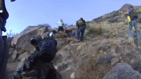 Footage from police cameras before James Boyd was shot.