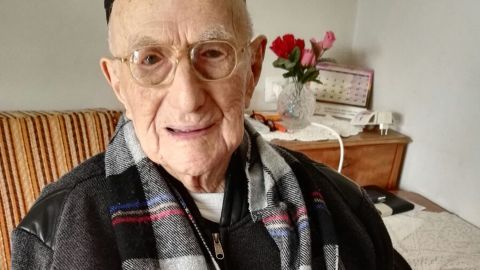 """Yisrael Kristal, 113, lives in Haifa, Israel, but grew up in Poland and survived being sent to Auschwitz. He ran candy stores in Lodz and in Haifa but keeps a healthy and simple diet. He credited that, along with prayer, for his longevity. He celebrated his bar mitzvah, which had been delayed by World War I, <a href=""""http://www.cnn.com/2016/09/16/middleeast/worlds-oldest-man-bar-mitzvah/"""">when he turned 113. </a>"""
