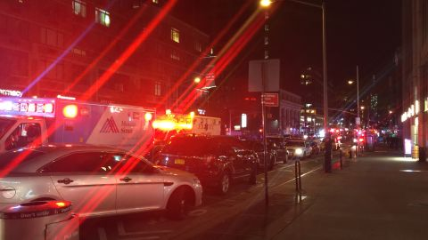 Explosion in Manhattan on 23rd street and 6th avenue.
