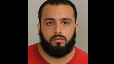 Ahmad Khan Rahami, 28, has been charged with five counts of attempted murder of a law enforcement officer after an exchange of gunfire with police today, acting Union County Prosecutor Grace H. Park announced Monday.   Rahami also is charged with second-degree unlawful possession of a weapon and second-degree possession of a weapon for an unlawful purpose.  At approximately 10:30 a.m. on Monday morning, a uniformed Linden police officer approached a man later identified as Rahami outside a bar on East Elizabeth Avenue, according to the investigation. At that time, Rahami immediately produced a handgun and shot the officer in the torso, striking him in his protective vest.  Additional patrol officers responding to the scene engaged Rahami in an exchange of gunfire that ended when Rahami was shot multiple times outside of an auto repair shop on East Elizabeth Avenue, several blocks west of where he was initially approached.  A handgun was recovered from Rahami at the scene. Rahami was immediately transported to a local hospital for treatment and has since undergone surgery. Neither the police officer who was struck by gunfire nor a second officer who was struck in the head by a fragment of a bullet suffered life-threatening injuries.  Bail for Rahami was set at $5.2 million by state Superior Court Judge Regina Caulfield.  This defendant was wanted for questioning in a federal investigation being led by the FBI regarding explosive devices found and detonated over the weekend in New Jersey and New York City. That investigation is continuing, and any media inquiries regarding it should be referred to the FBIís Newark office at 973-792-3020. Convictions on first-degree criminal charges are commonly individually punishable by 10 to 20 years in state prison, while second-degree charges typically result in terms of 5 to 10 years.  These criminal charges are mere accusations. All defendants are presumed innocent until proven guilty in a court of law.