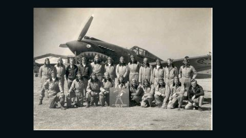 """The """"Hell's Angels"""" 3rd Squadron was one of three Flying Tiger squadrons that fought the Japanese."""