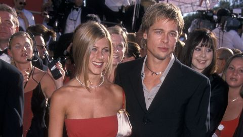 """Jennifer Aniston and Brad Pitt called it quits in 2005, but fans couldn't help but hold out hope for a reunion in 2018 after the actress announced her separation from Justin Theroux. Now every time they are in the same time zone (<a href=""""https://www.cnn.com/2020/01/19/entertainment/jennifer-aniston-brad-pitt/index.html"""" target=""""_blank"""">let alone the same room like at the 2020 Screen Actors Guild Awards</a>) people start longing for a reconciliation."""