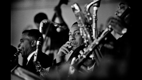 Johnny Hodges at Monterey in 1961.