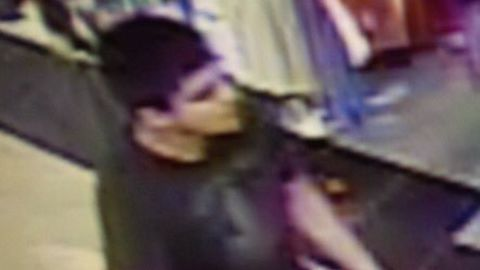 Authorities are looking for this man after the shooting at the mall.