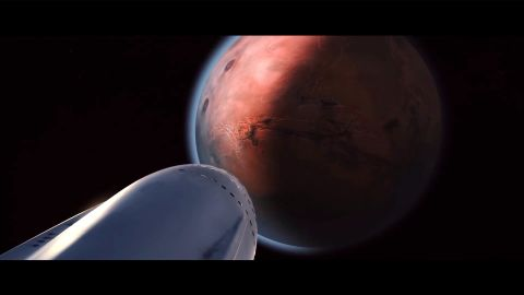 SpaceX designed large rocket engines, called Raptor, to power its Mars rocket. The first Raptor engine test fire took place in 2016.