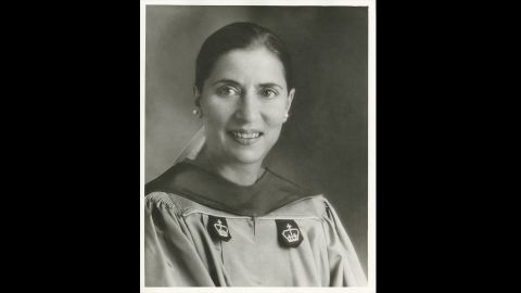 Columbia Law Professor Ruth Bader Ginsburg, photographed in the spring of 1980 shortly after President Jimmy Carter nominated her for the US Court of Appeals for the District of Columbia Circuit.