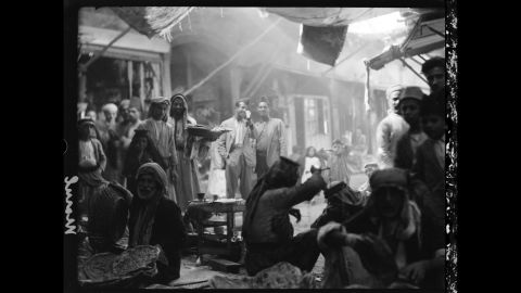 The souks, or markets, of Mosul hummed with activity every day.