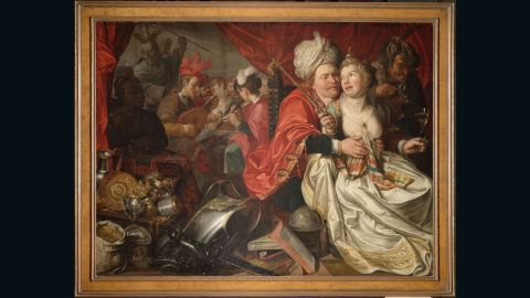 1. Lady World (1622) by Jacob Waben - credit  One of the highlights of the Westfries Museum, Lady World (1622) by Jacob Waben was one of 24 paintings stolen in 2005.