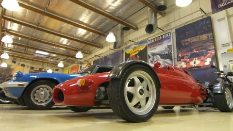 Despite the brilliant condition to which many of the cars have been restored, Leno is adamant he doesn't want this part of his life to be anything more than a hobby.