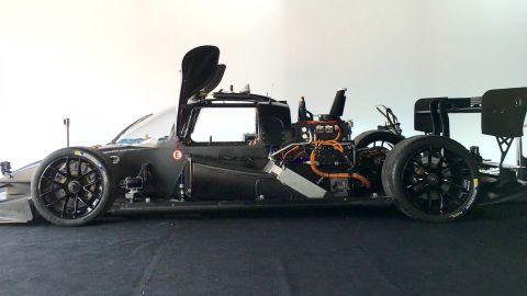 """The car has been developed by a small team of engineers and computer scientists. """"With this car we have several kinds of sensors,"""" Sergey Malygin, Roborace's Artificial Intelligence developer, told CNN. """"First of all there are lasers measurements -- light-based, so we have information about the 3D objects around us."""""""