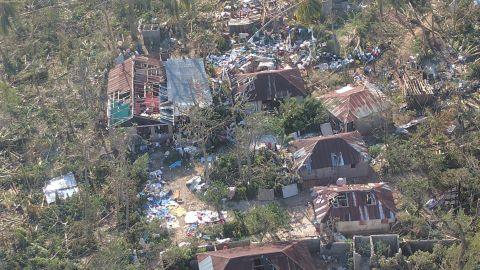 In the town of Roche-a-Bateau, about 90% of the buildings were destroyed by Hurricane Matthew, says DeGennaro.