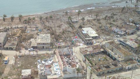 Towns along Haiti's southwestern coast were devastated by the hurricane.