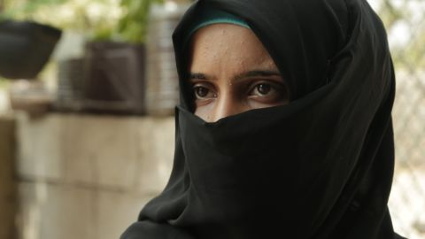 Tasnim, 16, is a Syrian girl from Homs who now lives in Lebanon with her husband of two months.