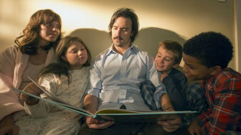 """In NBC's """"This is Us,"""" Jack and Rebecca Pearson (Milo Ventimiglia and Mandy Moore) play a young couple that builds a unique brood after one of their triplets dies during birth. One scene in the sob-inducing show featured Jack and Randall at a dojo, where the instructor had Jack do push-ups with his son on his back -- and refusing to stop."""