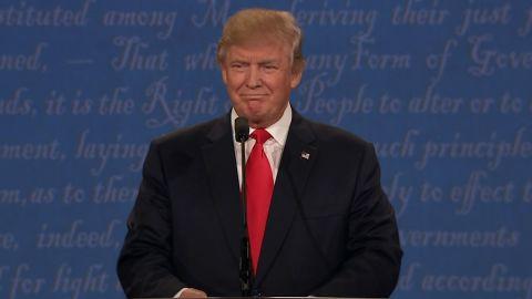 Donald Trump debate 01