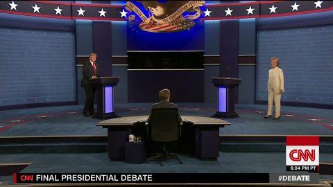 third presidential debate trump clinton no handshake sot 01_00000226.jpg