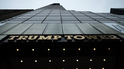 A general view of Trump Tower on Fifth Avenue, September 29, 2016 in New York City.