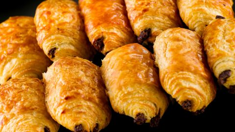 Jean-Francois Cope said he stopped eating pain au chocolat because he was watching his weight.