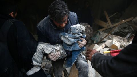 Some humanitarian groups say around 400,000 people have been killed in the Syria war.