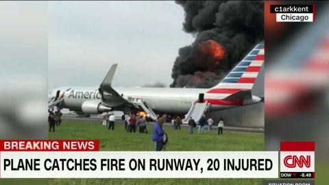 chicago o'hare plane catches fire hit marsh_00015010.jpg