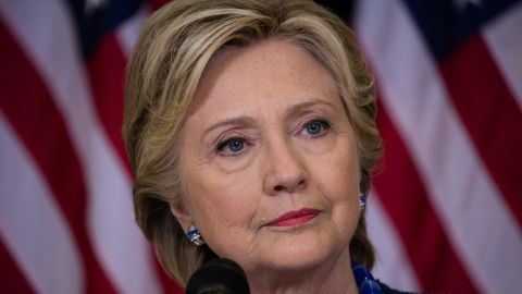 Democratic presidential candidate Hillary Clinton at Roosevelt High School in Des Moines, Iowa , October 28, 2016. Sec. Clinton gave a press conference and statement about the latest FBI matter regarding her emails.