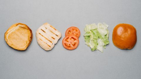 Burger King's Tendergrill chicken sandwich without mayo has only 320 calories but delivers 32 grams of protein to keep you satisfied long after the meal, which is important if you are limiting calories.
