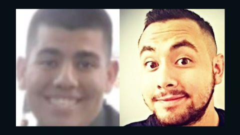 Alberto Medina, left, and Eric Marquez are former college students charged with killing Andrea DelVesco.