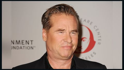 """Val Kilmer denied it in 2016 when a former co-star, Michael Douglas, said the actor was suffering from oral cancer. But during a Reddit Ask Me Anything session in April 2017, Kilmer said he """"<a href=""""http://www.cnn.com/2017/05/01/entertainment/val-kilmer-cancer/index.html"""">did have a healing of cancer</a>."""""""