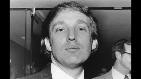 Trump attends an event to mark the start of construction of the New York Convention Center in 1979.