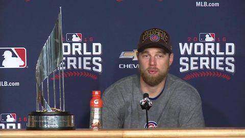 chicago cubs win world series presser zobrist sot _00000111.jpg