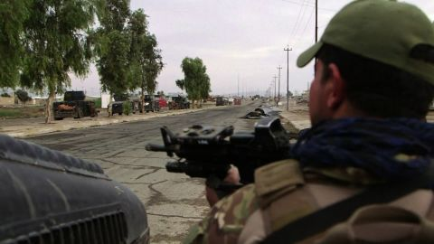 Iraqi troops entered the city of Mosul on November 3.