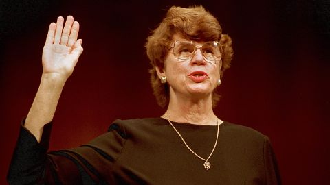 """<a href=""""http://www.cnn.com/2016/11/07/politics/janet-reno-dies/"""" target=""""_blank"""">Janet Reno</a>, the first female US attorney general, died November 7 following a long battle with Parkinson's disease, her sister Maggy Hurchalla said. Reno, 78, served in the Clinton White House from 1993 to 2001."""