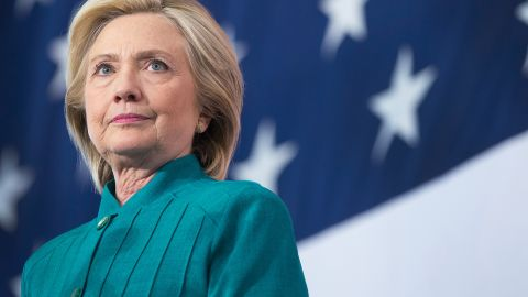DES MOINES, IA - JUNE 14:  Former Secretary of State Hillary Clinton speaks to supporters during a campaign event at the  the Elwell Family food Center at the Iowa State Fairgrounds on June 14, 2015 in Des Moines, Iowa. Clinton officially kicked off her 2016 bid for the White House yesterday during an event on New Yorks Roosevelt Island.  (Photo by Scott Olson/Getty Images)
