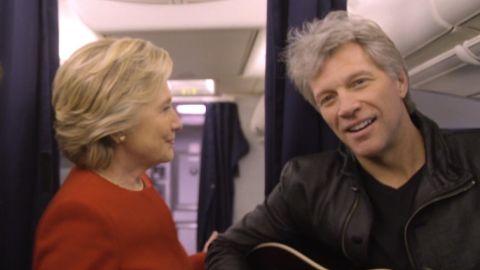 Clinton mannequin challenge