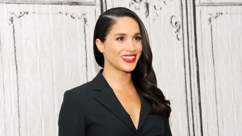 Meghan Markle at AOL Studios in New York on March 17, 2016.
