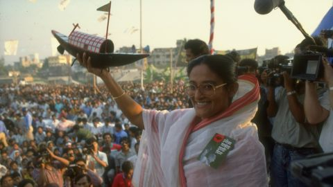 Sheikh Hasina Wazed became Bangladesh's prime minister for a second time in 2009. She first held the office from 1996-2001.