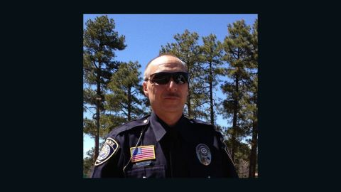 Show Low, Arizona, police officer Darrin Reed