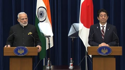 India and Japan have signed a nuclear deal aimed at making the world cleaner and greener.