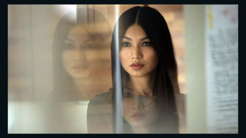 """In the AMC show """"Humans,"""" anthropomorphic robot Anita (Gemma Chan) is purchased by a husband to be used as an assistant in his household, but he ends up using her for sex, too. Other humans on the show also engage in sexual relationships with their """"synths."""""""