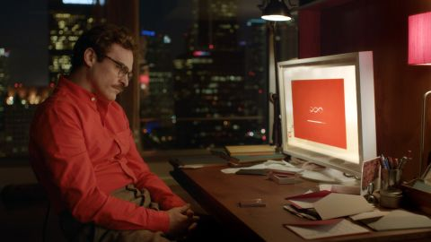 """In the film """"Her,"""" Theodore Twombly (Joaquin Phoenix) is a lonely introvert who starts a relationship with an operating system named Samantha (Scarlett Johansson). They engage in phone sex, and she sends a sexual surrogate named Isabella to further their relationship."""