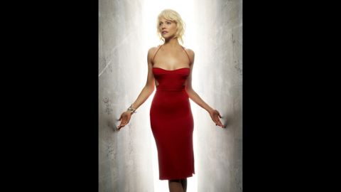 """Almost indistinguishable from humans, the Cylons try to take control of civilization by killing people or trying to reproduce with them in """"Battlestar Galactica."""" Though they are depicted as male and female, seductive Number Six (Tricia Helfer), is the first one introduced in the series."""