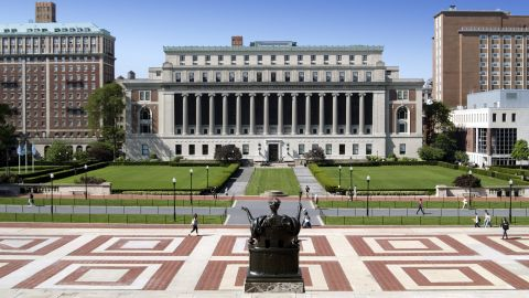 "Columbia University blamed the mistake on ""human error."""
