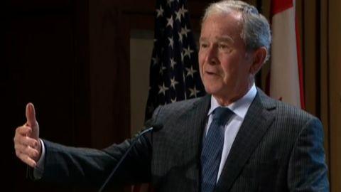 george w bush center remarks