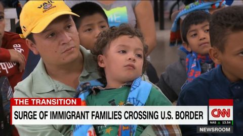 surge of immigrant familles polo sandoval sot newsoom