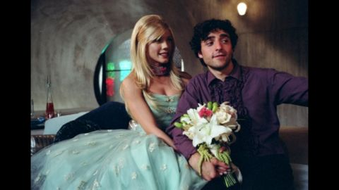 """In the film """"Serenity,"""" a continuation of the short-lived TV series """"Firefly,"""" Lenore (Nectar Rose) is the robotic wife of Mr. Universe (David Krumholtz)."""