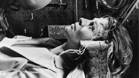 """In the novel and film """"Demon Seed,"""" Susan Harris (played by Julie Christie) becomes the target of an artificial intelligence, created by her husband, that wants to impregnate her."""