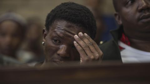 Victim of the assault,Victor Mlotshwa looks on in court during the first hearing of the assault charge